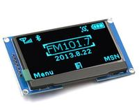 2.42 inch LCD Screen 12864 OLED Display Module IIC I2C SPI Serial C51 STM32 SSD1309 for Arduino 128X64 White/Blue/Green/Yellow