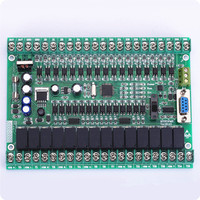 PLC Industrial Control Board FX1N FX2N 30MR 30MT Download Monitoring Can Be Even Touch Screen Text
