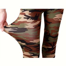 New Brands Women Leggings High Elastic Skinny Camouflage Legging Spring Autumn Leggins Slimming Women Leisure Pant