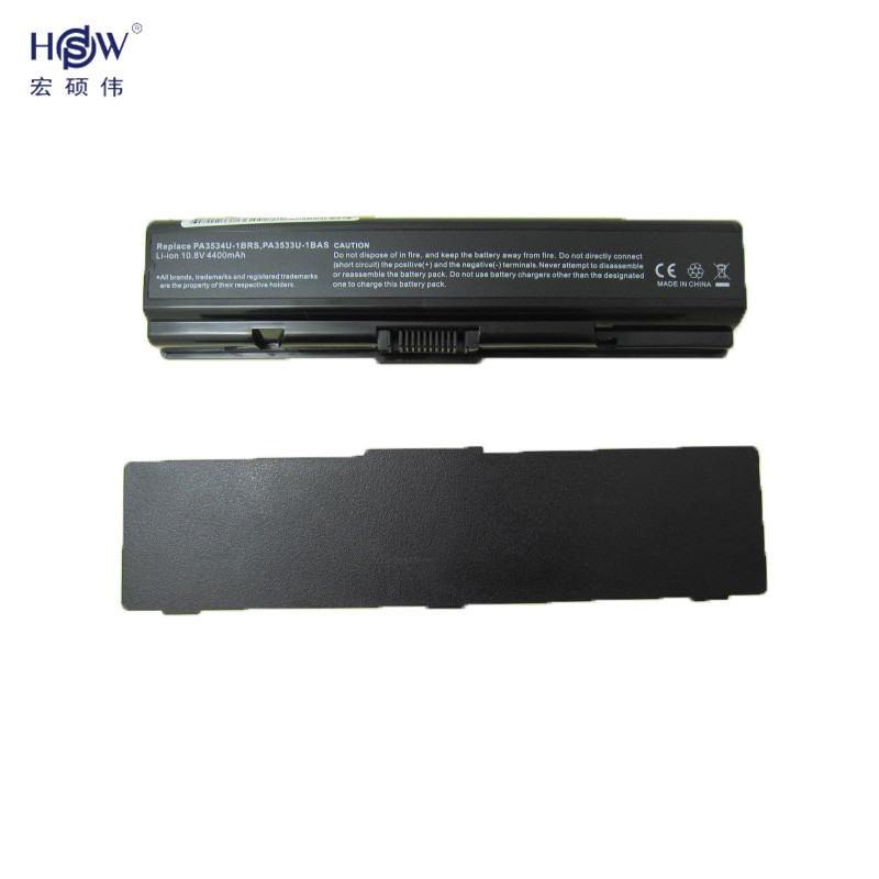 HSW Battery For Toshiba PA3534U-1BAS PA3534U-1BRS Satellite A200 A205 A210 A215 A300 L300 L450D L500 L505 L555 M200 PABAS098 motherboard for toshiba satellite a200 a215 v000108970 6050a2127101 100% tested good