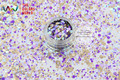 RFI321-182  Mix Colors Dot shapes round  Glitter for nail art ,nail gel,makeup and DIY decoration