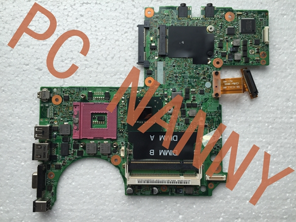 0W566D Laptop Motherboard for Dell 1318 motherboard 48.4C305.041 tested DDR2 GM965