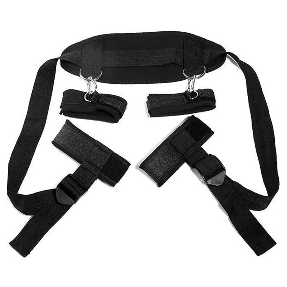 Women Sexy Bondage Rope Wristcover Fetish Leggings Restraint Collar Sets Accessories Adul Game For Couple Halloween Fancy Prop
