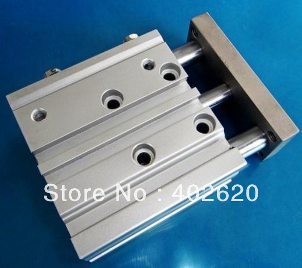 5pcs/lot, SMC style, 32mm bore, 30mm stroke  MPGM32-30,three shaft pneumatic cylinder  free shipping 5pcs lot smc three shaft style 40mm bore 20mm stroke mpgm40 20 pneumatic cylinder free shipping