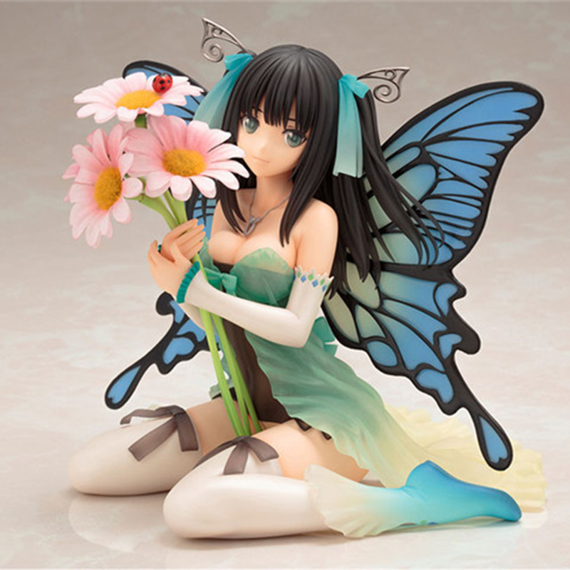 Butterfly Fairies Sitting Ver Action Figure 1 6 scale painted figure Common Daisy Ver Butterfly Sister