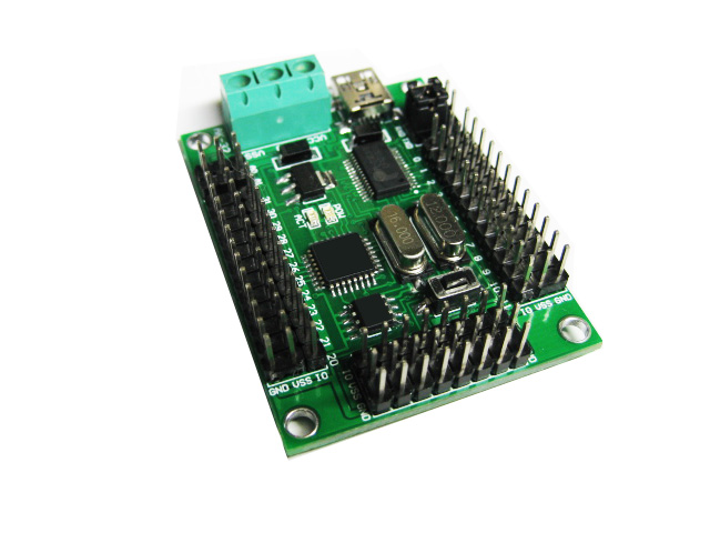 Home Appliance Parts Initiative Arduino 32-way Rudder Controller With Off-line Mode Usb Diy Robot Accessories Choice Materials