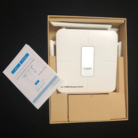 New 4 antennas long range AC1200 dual band 2.4G/5G wireless WIFI smart router modem with app management strong signal