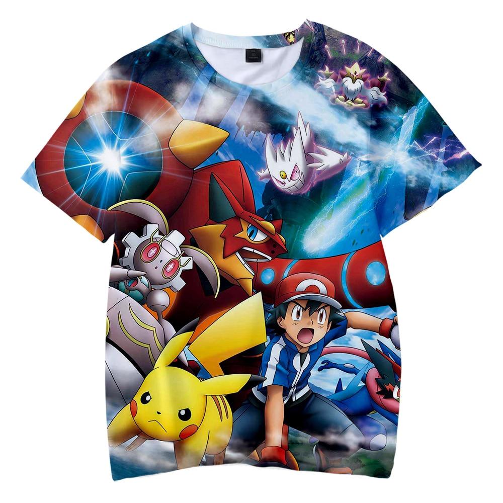 drop-shopping-2019-new-font-b-pokemon-b-font-3d-print-anime-pikachu-children's-wear-boy-girl-kids-casual-t-shirt-short-sleeve-clothes