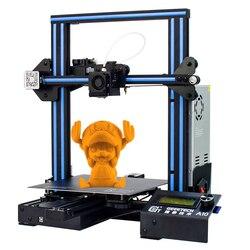 GEEETECH 3D Stampante A10 Open Source Veloce Montaggio ugello 0.4 millimetri 220*220*260 MILLIMETRI 180 millimetri/s Filamento sensore di PLA LCD2004 con FDM CE