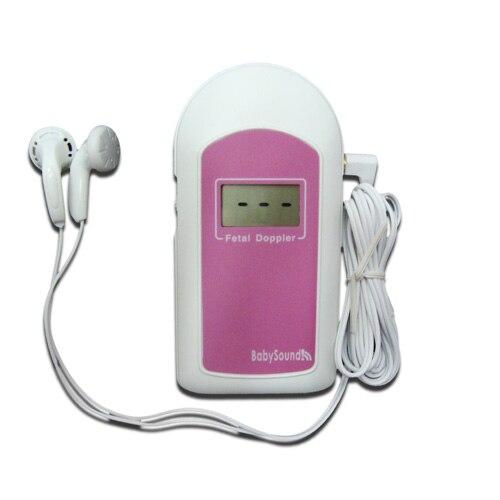 CE FDA CONTEC BEBÊSOM B Pink & Blue Fetal Doppler Bebê Heart Beat Monitor com Grátis Gel