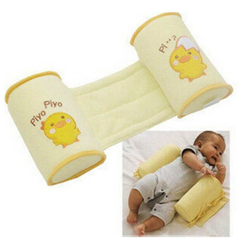 New Baby Shaping Pillow to finalize baby design pillow Correct the flat head Prevent a cartwheel pillow Yellow chicken cartoon