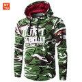 Hoodies Men 2016 Brand Mens Moletom Masculino Hoodies Slim Tracksuit Male Letters Print Hoodie Camouflage Sweatshirt XXL