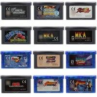 Cartuccia del Video Gioco 32 Bit Console di Gioco di Carta di Serie di Combattimento GiochiCartuccia del Video Gioco 32 Bit Console di Gioco di Carta di Serie di Combattimento Giochi