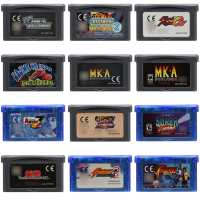Video Game Cartridge 32 Bit Game Console Card Fighting Series Games