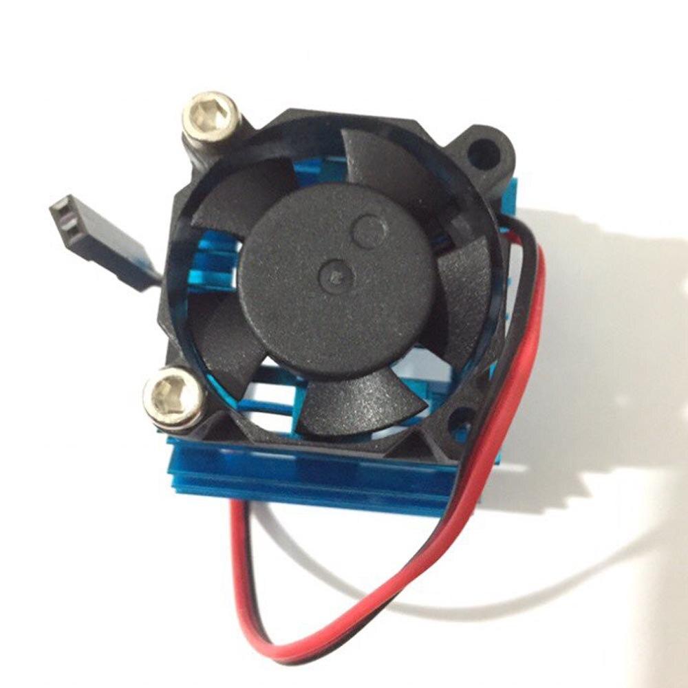 Heiß Auf Verkauf Blau RC Teile Elektrische Auto Motor Kühlkörper ...
