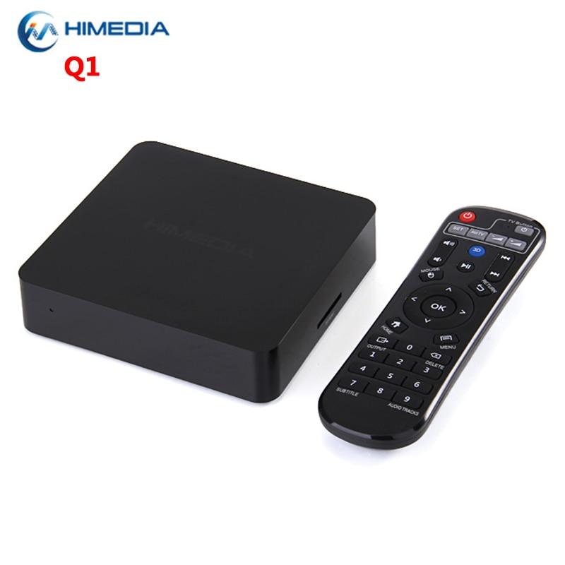 SZBOX Newest Himedia Q1 Android TV Box HiSilicon 3798M 1GB DDR3 8GB ROM 2.4GHz WiFi USB 3.0 Media Player 4K HD Smart Set Top Box himedia h7 iii smart android tv box 3d 4k uhd octa core network media player 1gb ram 8gb rom metal shell set top box