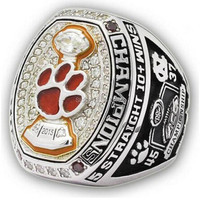 New Arrival 2015 CLEMSON TIGERS ACC FOOTBALL CHAMPIONSHIP RING Fans Best Gift Sports Men Ring Size