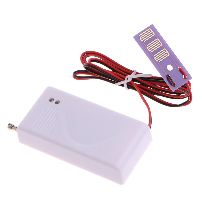 1 PC 433MHz Wireless Water Leakage Sensor Leak Detector For Home Security Alarm