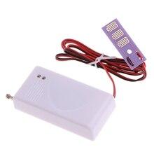 1 PC 433MHz bezprzewodowy czujnik wycieku wody wykrywacz nieszczelności dla alarm bezpieczeństwa w domu
