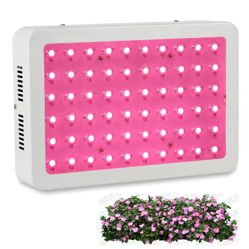 Full Spectrum 60x5W series 300W LED Grow Lights for indoor plants growth Hydroponic greenhouse grow box/tent lamp Bloom 2pcs full spectrum led grow light 400w grow lights indoor plant lamp for plants flower greenhouse grow box tent bloom ae