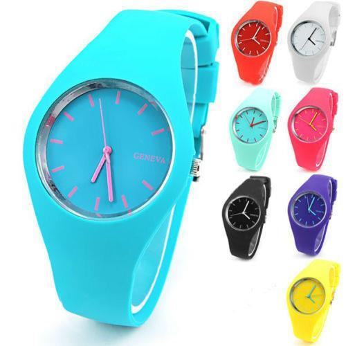 2018 New Arrival Fashion Elegant Mint Green Jelly Silicone Quartz Watch Women Relogio Feminino Dress Wristwatches Hot Sale Clock mint green casual sleeveless hooded top