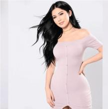 off shoulder Knitted Sweater Dress Women Elastic Split Autumn Winter Bodycon Dresses Long Sleeve Open Shoulder Sexy Dress sexy long sleeve off the shoulder belt design sweater dress for women