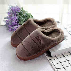 hal luci House indoor men Home Slippers Warm winter Plush