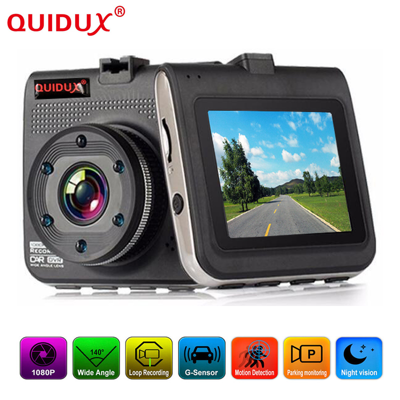 QUIDUX 2.2 inch screen Full HD Car DVR mini Vehicle Dash ...