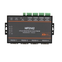 4ports Serial Device Linux Server RS232/RS485/RS422 go to Ethernet