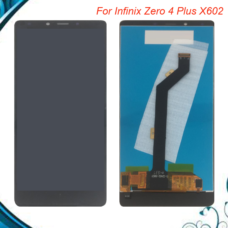 100% Tested OK  For infinix Zaro 4 plus X602 LCD Display digitizer Assembly Touch Screen For infinix X602 100% Tested OK  For infinix Zaro 4 plus X602 LCD Display digitizer Assembly Touch Screen For infinix X602