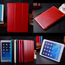 "for Apple Ipad Mini 2 3 1 Case PU Leather Ultra Slim Luxury Three-folded Vintage Stand Magnet Smart Tablet Covers 7.9"" Cases"