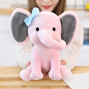Image 5 - 25cm Bedtime Originals Choo Choo Express Plush Toys Elephant Humphrey Soft Stuffed Plush Animal Doll for Kids Birthday Gift