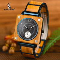 BOBO BIRD Top Brand Luxury Stylish Men Watches Relogio Masculino Quartz Women Watch relogio feminino Great Gift Timepieces W R14