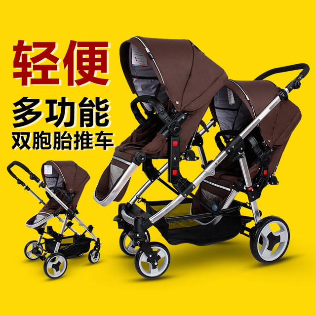 f641a518c6c4 Baby Jogger City Select Lux Twin Tandem Double Stroller with Second ...