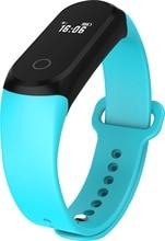 A16 Bluetooth Смарт часы здоровья наручные браслет монитор сердечного ритма OLED Сенсорный экран спортивные часы для мужчин и женщин PK I5 Ми Группа 2
