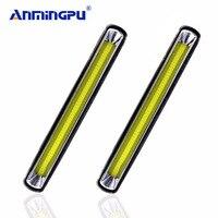 ANMINGPU 2pcs Car Light Assembly 12V DRL Led Daytime Running Light Daylight Lamp Day Light Led