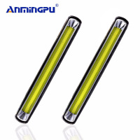ANMINGPU 2pcs Car Light Assembly 12V DRL Led Daytime Running Light Daylight Lamp Day Light Led