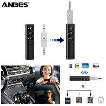 Anbes мини приемник Bluetooth аудио передатчик 3.5 мм Jack Handsfree Bluetooth гарнитура для авто Музыка адаптер Bluetooth автомобиля AUX
