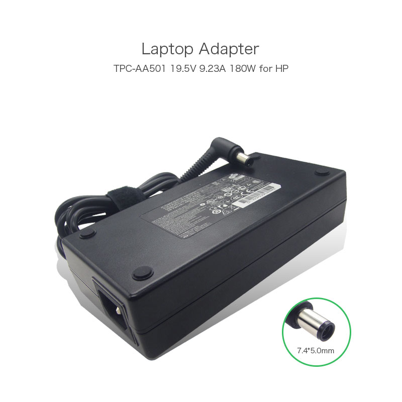 AC Adapter 19.5V 9.23A 180W Power Supply for HP ELITEDESK 800 G1 TPC-AA501 681059-200 755702-001 APB002-022H2 Laptop  Adaptor 19 5v 11 8a 230w laptop adapter for hp compaq dc7800 dc7900 dc8000 8730w zbook 15 tpc ba51 641514 001 bt ag231egf h power supply