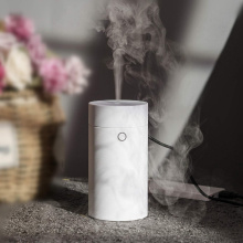 VVPEC 55ml white mini car usb essential oil aroma diffuser ultrasonic air humidifier aromatherapy mist maker
