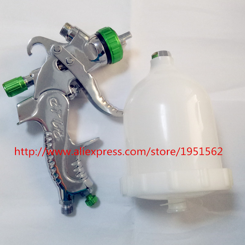 цена на SPRAY GUN HVLP 601 Perfect atomization 1.4mm nozzle cars furniture paint pot of spray gun