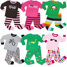 Nowy 2 sztuk zestaw Baby Boy dziewczyna dzieci piżamy garnitur maluch Cartoon piżamy dzieci 100 bawełna piżama z długim rękawem Robocar Poli tanie tanio SMHONG COTTON Wokół szyi Unisex Pełna Rękaw raglan 2-3-4-5-6-7T fashion Pasuje mniejszy niż zwykle proszę sprawdzić ten sklep jest dobór informacji