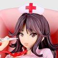 1 pcs 1/7 escala Do Sexo. ver Enfermeira Momoi Figura W/cadeira de Exame de ação figura pvc brinquedo de altura 18 cm na caixa para a coleção.