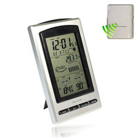 High Quality New 4 9 LCD Wireless Weather Forecast Station Outdoor Temperature Humidity Sensor