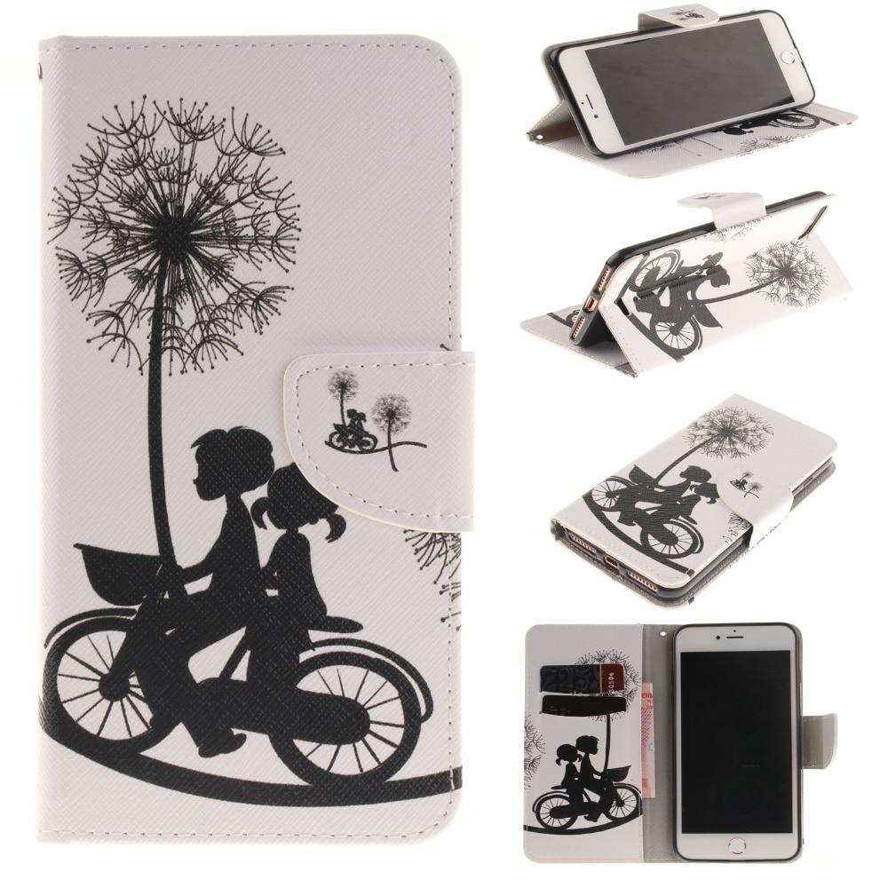 Iphone 7 Plus Cute Cizgi Cizgi Həvəskarları Üçün Bəbir - Cib telefonu aksesuarları və hissələri - Fotoqrafiya 3