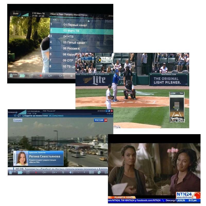 Digital TV DVB T2 USB Stick Tuner me antenë Remote Control USB2.0 - Audio dhe video në shtëpi - Foto 4