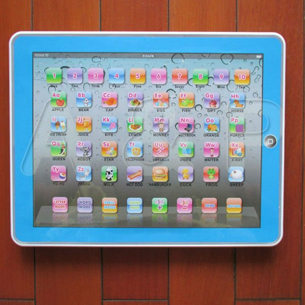 Kid Child Tablet Pad Computer Learning tool English Educational Teach Toy Gift