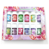 12pcs Set 100 Pure Lavender Sandalwood Essential Oils Pack For Aromatherapy With 12 Kinds Of Fragrance