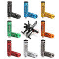 2pcs Universal CNC Racing Motorcycle Bike Footrests Footpeg Pedals Foot Rest Rear Set 8 Colors Options Wholesale D15