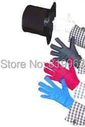 Color Changing Gloves - Magic Trick, free shipping! card,stage magic propsclose upmagic,mentalism,comedy free shipping windowmation remote control card thru window magic trick stage magic props close upmagic mentalism comedy